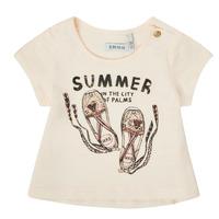 Kleidung Mädchen T-Shirts Ikks XS10090-11 Weiss