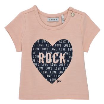 Kleidung Mädchen T-Shirts Ikks XS10120-31 Rose