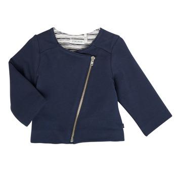 Kleidung Mädchen Strickjacken Ikks XS17030-48 Marine