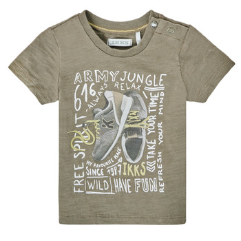Kleidung Jungen T-Shirts Ikks XS10141-57 Kaki