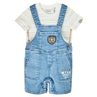 Kleidung Jungen Overalls / Latzhosen Ikks XS37011-84 Blau