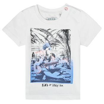 Kleidung Jungen T-Shirts Ikks XS10051-19 Weiss