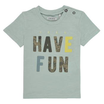 Kleidung Jungen T-Shirts Ikks XS10131-50 Blau