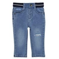 Kleidung Jungen Slim Fit Jeans Ikks XS29001-83 Blau