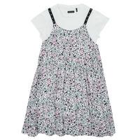 Kleidung Mädchen Kurze Kleider Ikks XS30182-19-J Multicolor