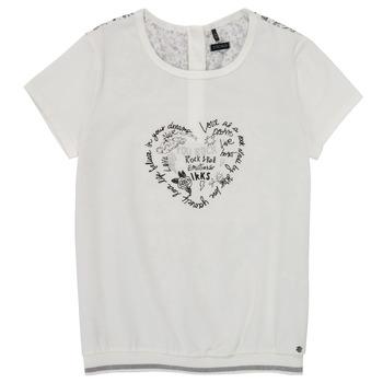 Kleidung Mädchen T-Shirts Ikks XS10242-19-C Weiss