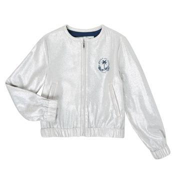 Kleidung Mädchen Jacken / Blazers Ikks XS17042-18-J Silbern