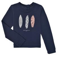 Kleidung Mädchen Sweatshirts Ikks XS15012-48-J Marine