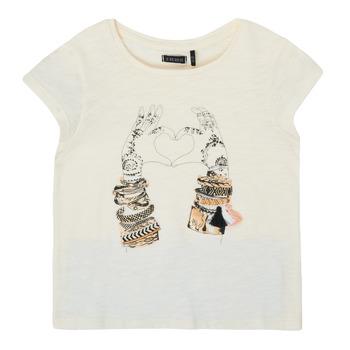 Kleidung Mädchen T-Shirts Ikks XS10002-11-C Weiss