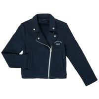 Kleidung Mädchen Strickjacken Ikks XS17072-48-C Marine