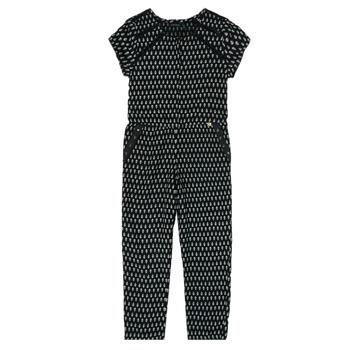 Kleidung Mädchen Overalls / Latzhosen Ikks XS32012-02-C Schwarz