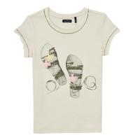 Kleidung Mädchen T-Shirts Ikks XS10132-11-J Weiss