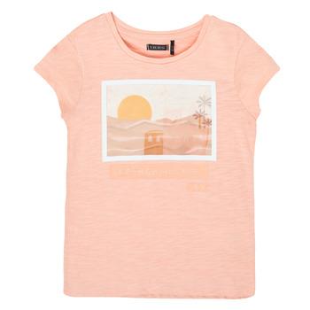 Kleidung Mädchen T-Shirts Ikks XS10332-32-C Rose
