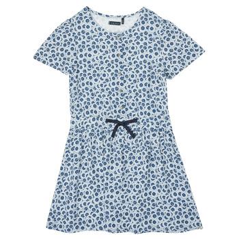 Kleidung Mädchen Kurze Kleider Ikks XS30102-48-C Blau