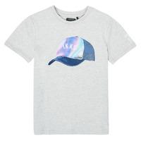 Kleidung Jungen T-Shirts Ikks XS10073-24-C Grau