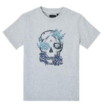 Kleidung Jungen T-Shirts Ikks XS10243-21-C Grau