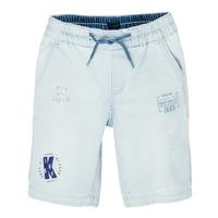 Kleidung Jungen Shorts / Bermudas Ikks XS25223-82-C Blau