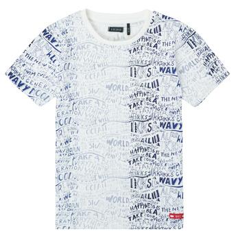 Kleidung Jungen T-Shirts Ikks XS10063-19-C Multicolor