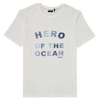 Kleidung Jungen T-Shirts Ikks XS10343-19-C Weiss