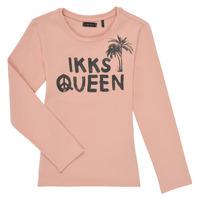 Kleidung Mädchen Langarmshirts Ikks XS10092-32-J Rose
