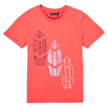 Kleidung Jungen T-Shirts Ikks XS10043-79-J Rot