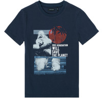 Kleidung Jungen T-Shirts Ikks XS10013-48-J Marine