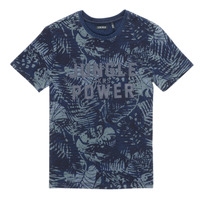 Kleidung Jungen T-Shirts Ikks XS10153-46-J Marine
