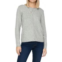 Kleidung Damen Strickjacken Jacqueline De Yong 15211481 Grau