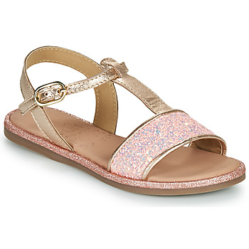 Schuhe Mädchen Sandalen / Sandaletten Mod'8 PAILLETTA Rose