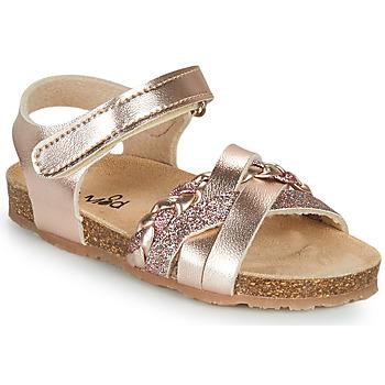 Schuhe Mädchen Sandalen / Sandaletten Mod'8 KOENIA Rose / Gold