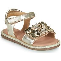 Schuhe Mädchen Sandalen / Sandaletten Mod'8 PARLOTTE Gold