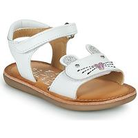 Schuhe Mädchen Sandalen / Sandaletten Mod'8 CLOONIE Weiss