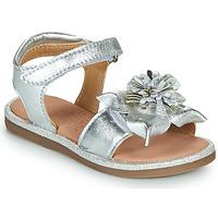 Schuhe Mädchen Sandalen / Sandaletten Mod'8 PAXILLA Silbern