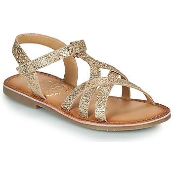 Schuhe Mädchen Sandalen / Sandaletten Mod'8 CANISA Gold