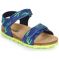 Schuhe Jungen Sandalen / Sandaletten Mod'8 KOURTIS Blau / Grün