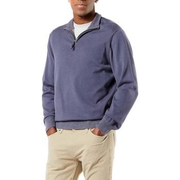 Kleidung Herren Sweatshirts Dockers ALPHA PLAITED 1/4 ZIP grau