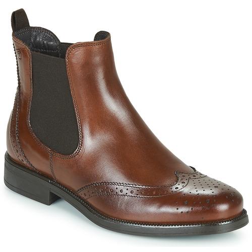Schuhe Damen Boots Betty London JOSTA Braun