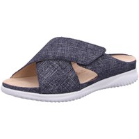Schuhe Damen Hausschuhe Hartjes pantoffel 110622/23,00 blau