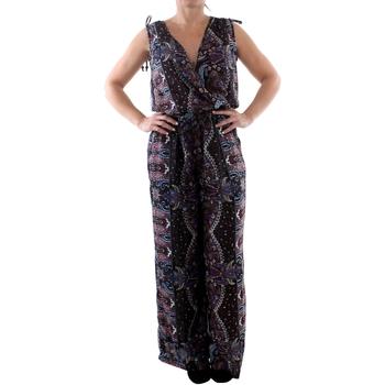 Kleidung Damen Overalls / Latzhosen Couleurs Du Monde LI-0023 Multicolor Multicolor