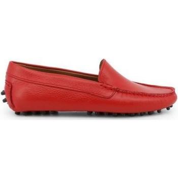 Schuhe Damen Slipper Made In Italia FOTOROMANZA ROSSO Rojo