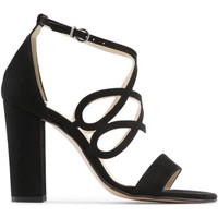 Schuhe Damen Sandalen / Sandaletten Made In Italia CARINA NERO Negro