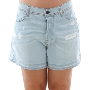Kleidung Damen Shorts / Bermudas Sisley 4Z9R59206 SIS Azul claro