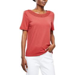 Kleidung Damen T-Shirts Jacqueline De Yong 15210904 Rot