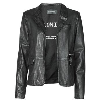 Kleidung Damen Jacken / Blazers Oakwood RESET Schwarz