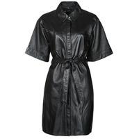 Kleidung Damen Kurze Kleider Oakwood BREAK Schwarz