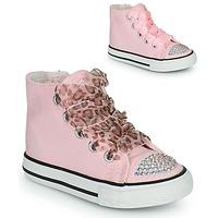 Schuhe Mädchen Sneaker High Citrouille et Compagnie OUTIL Rose