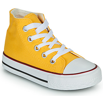 Schuhe Kinder Sneaker High Citrouille et Compagnie OUTIL Gelb