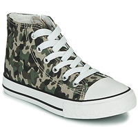 Schuhe Kinder Sneaker High Citrouille et Compagnie OUTIL Camouflage