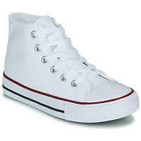 Schuhe Kinder Sneaker High Citrouille et Compagnie OUTIL Weiss