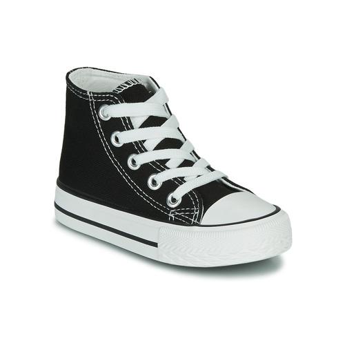 Schuhe Kinder Sneaker High Citrouille et Compagnie OUTIL Schwarz